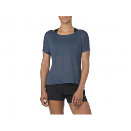 Camiseta Asics Running L2 mujer azul