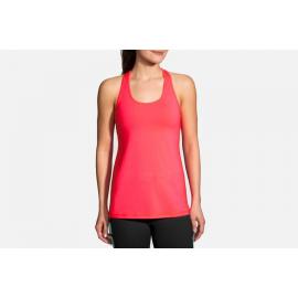 Camiseta Brooks Pick-Up rosa mujer