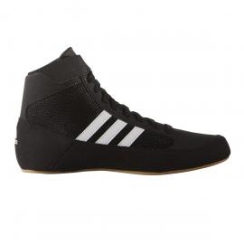 Zapatillas lucha Adidas HVC negro/blanco unisex