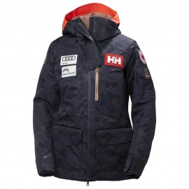 Chaqueta esquí Helly Hansen Powderqueen 2.0 azul mujer
