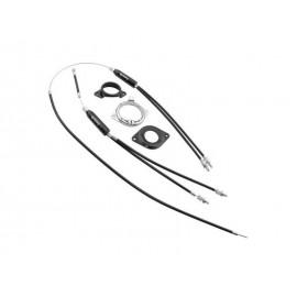 Fishbone cables mas fundas y rotor juego  Bmx 25,4 1-1/8