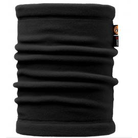 Cuello Buff Polar Neckwarmer Solid negro unisex