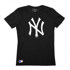 Camiseta New Era New York Yankees negra hombre