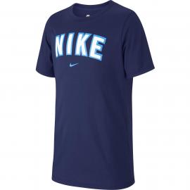 Camiseta Nike Sportwear niño azul