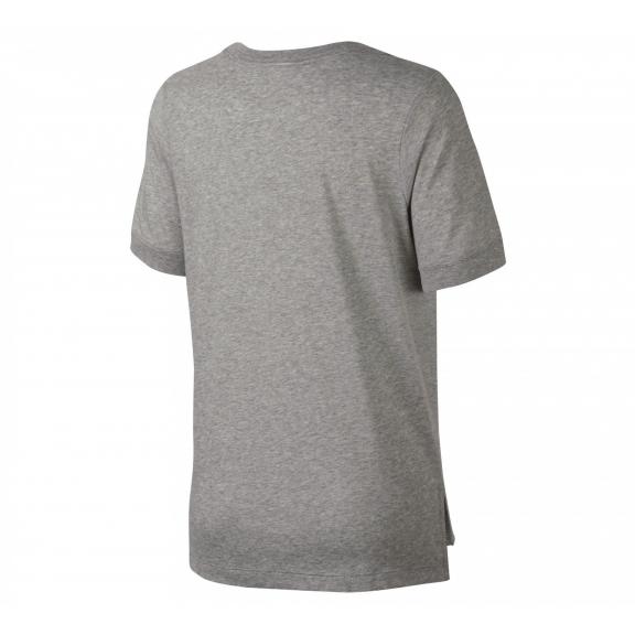 Camiseta Nike Sportwear Prep Futura gris mujer - Deportes Moya eacaf2f0686