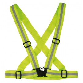 Cinto reflectante Wowow Cross Belt amarillo reflectante, ela