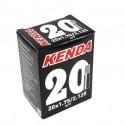Camara Kenda 20 1.75 x 2.125 valvula Schrader