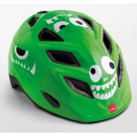 Casco Met Elfo Verde Monstruos infantil