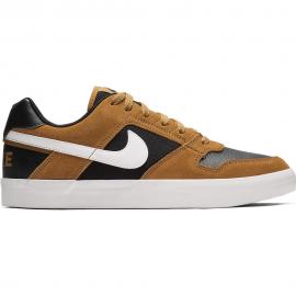 Zapatillas Nike SB Delta Force Vulc marrón hombre
