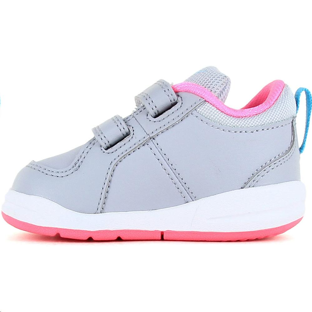 Zapatillas Nike Pico 4 (TDV) grisrosa bebé Deportes Moya