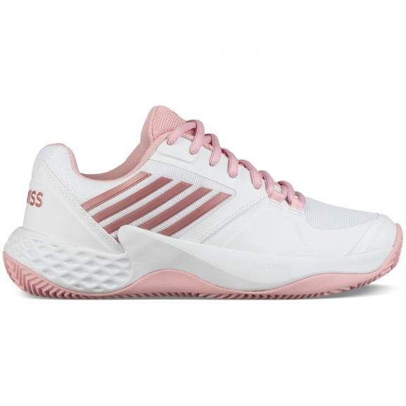 16069c85 Zapatillas padel K-Swiss Aero Court HB blanco/rosa mujer - Deportes Moya