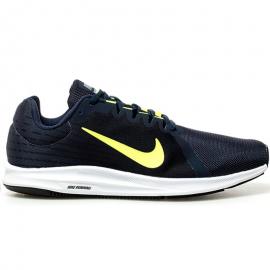 Zapatillas Nike Downshifter 8 marino/fluor hombre