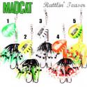 Madcat Rattlin Teaser Spinner 90gr. White