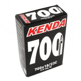 Camara Kenda 700 18/23C valvula presta 60 mm