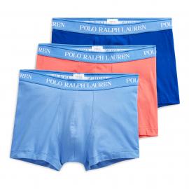 Boxer Polo Ralph Lauren 3pk royal/azul/coral hombre