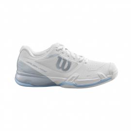 Zapatillas tenis Wilson Rush Pro 2.5 2019 blanco/azul mujer
