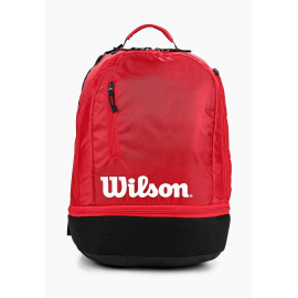 Mochila tenis Wilson Team Backpack negro/rojo