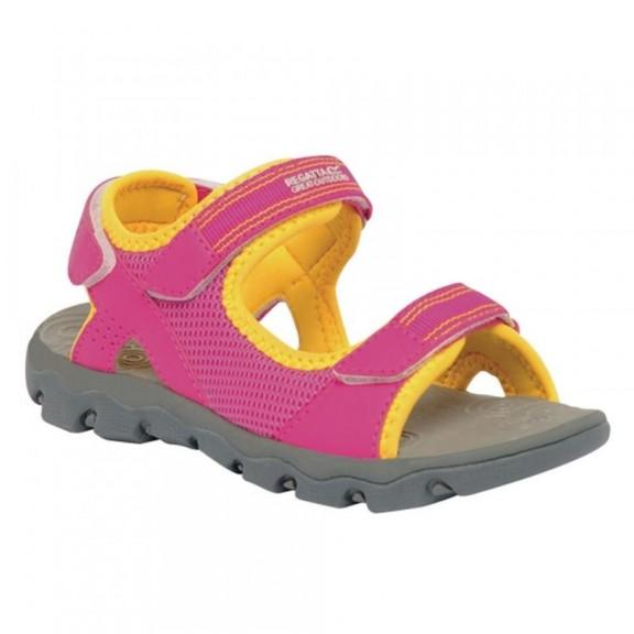 Sandalias montaña Regatta Terrarock JNR rosa niña