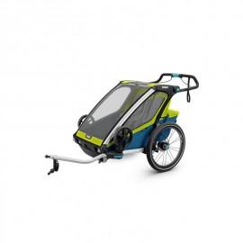 Carrito Thule Chariot Sport 2 Lima/Azul