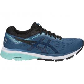 Zapatillas running Asics GT-1000 7 azul/negro mujer