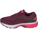 Zapatillas running Asics Gel-Kayano 25 burdeos/rosa mujer