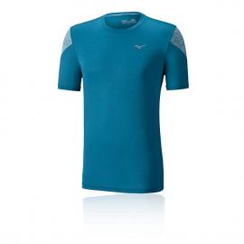 Camiseta Running Mizuno Alpha azul hombre