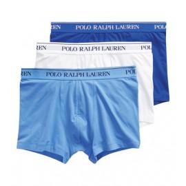 Boxer algodon Ralph Lauren trunk pack 3 bl/ce/roy hombre