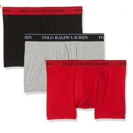 Boxer algodon Ralph Lauren trunk pack 3 ne/ro/gr hombre