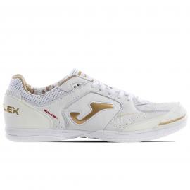 Zapatillas fútbol Joma Top Flex 902 blanco/dorado hombre