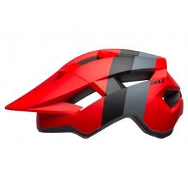 Casco Bell Spark Jr 19 Crimson Rojo/Negro