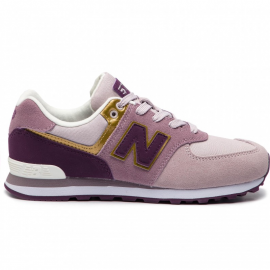 Zapatillas New Balance GC574MLG rosa junior