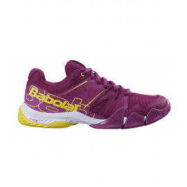 Zapatillas pádel Babolat Pulsa violeta mujer