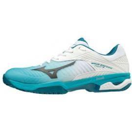 Zapatillas pádel Mizuno Wave Exceed Tour CC blanca/azul homb