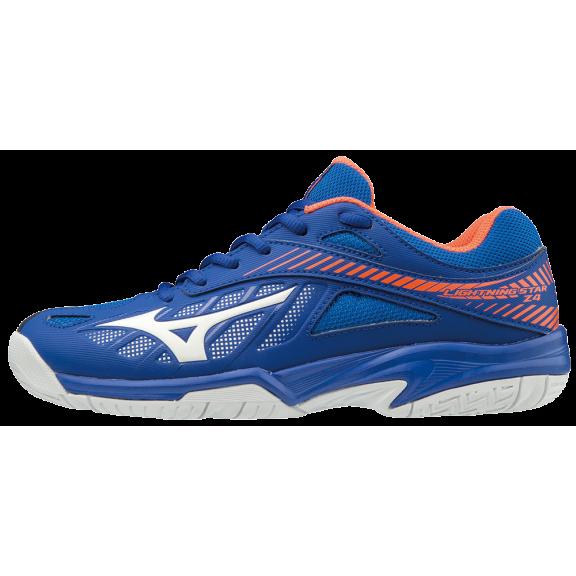 de0fc80685b81 Zapatillas indoor Mizuno Lightning Star Z4 azul junior - Deportes Moya