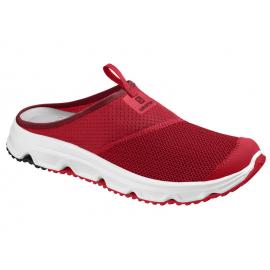 Zapatillas relax Salomon Rx Slide 4.0 roja hombre