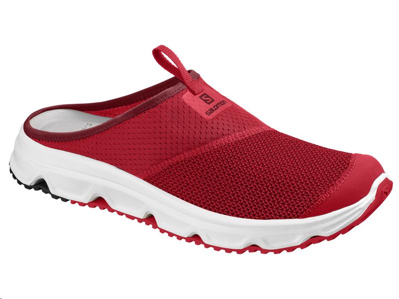 zapatillas salomon hombre 40 y 30 rojo