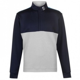 Sudadera Footjoy Chillout azul/gris hombre