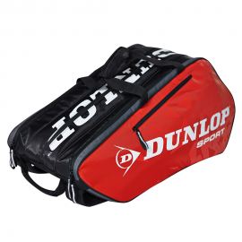 Raquetero Dunlop Tour 10 raquetas rojo