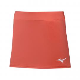 Falda tenis/pádel Mizuno Flex Skort coral mujer