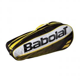 Raquetero Babolat Rh X 6 Club amarillo/negro