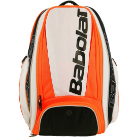 Mochila Babolat Backpack Pure Strike blanco/naranja