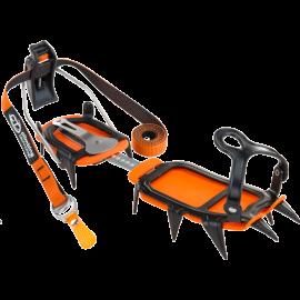 Crampon semiautomatico Climbing Technology Ice negro
