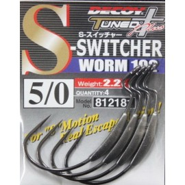 Anzuelo Decoy Worm 102 S-Switcher - 5/0