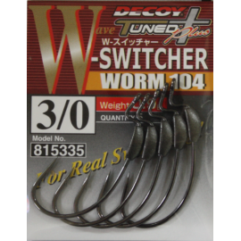 Anzuelo Decoy Worm 104 W Switcher 3/0
