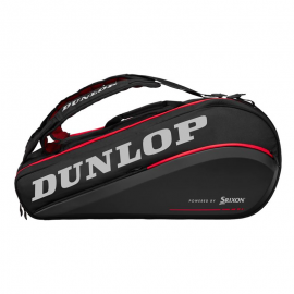 Raquetero Dunlop CX Performance 9RKT Thermo negro/rojo