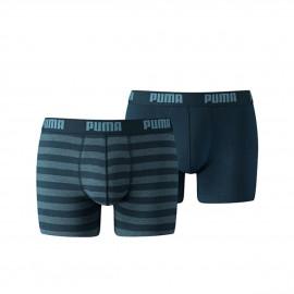 Boxer Puma Stripe 1515 pack 2 denim hombre