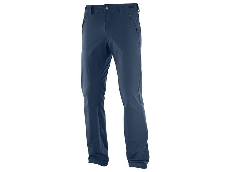 Pantalon senderismo Salomon Wayfarer marino hombre