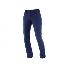 Pantalon trekking Salomon Wayfarer azul mujer