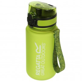 Botella Agua Regatta Tritan Flip 0.35L verde