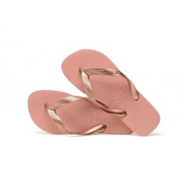 Chanclas Havaianas Top Tiras rosa/dorado mujer